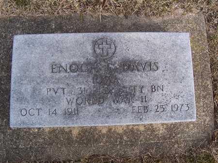 ENOCH, DAVIS - Boone County, Iowa   DAVIS ENOCH