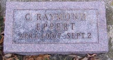 EPPERT, C. RAYMOND - Boone County, Iowa | C. RAYMOND EPPERT