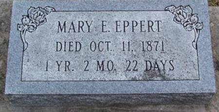 EPPERT, MARY E. - Boone County, Iowa | MARY E. EPPERT