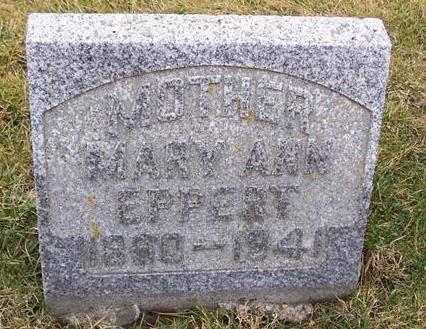 EPPERT, MARY ANN - Boone County, Iowa | MARY ANN EPPERT