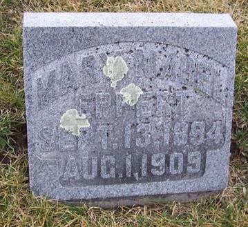 EPPERT, MARY MABEL - Boone County, Iowa   MARY MABEL EPPERT