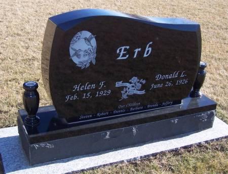 ERB, HELEN F. - Boone County, Iowa | HELEN F. ERB