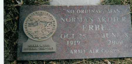 ERBE, NORMAN ARTHUR - Boone County, Iowa | NORMAN ARTHUR ERBE