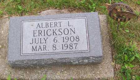 ERICKSON, ALBERT L. - Boone County, Iowa   ALBERT L. ERICKSON