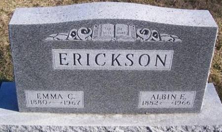 ERICKSON, ALBIN E. - Boone County, Iowa | ALBIN E. ERICKSON