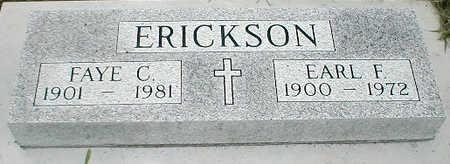 ERICKSON, EARL F. - Boone County, Iowa | EARL F. ERICKSON