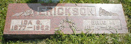 ERICKSON, ERIC L. - Boone County, Iowa | ERIC L. ERICKSON
