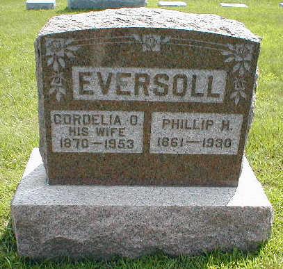 EVERSOLL, CORDIELA O. - Boone County, Iowa | CORDIELA O. EVERSOLL