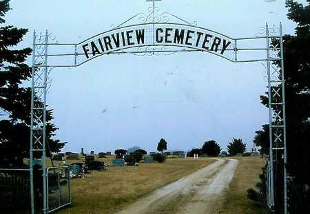FAIRVIEW, CEMETERY - Boone County, Iowa | CEMETERY FAIRVIEW