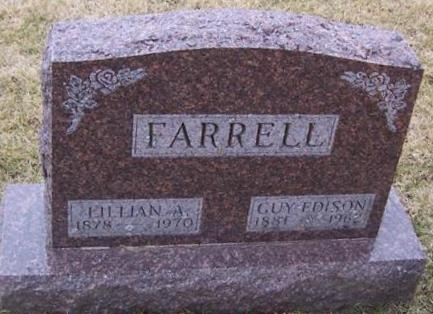 FARRELL, LILLIAN A. - Boone County, Iowa   LILLIAN A. FARRELL