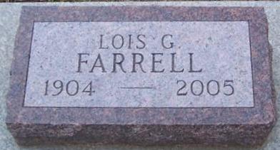 FARRELL, LOIS G. - Boone County, Iowa | LOIS G. FARRELL