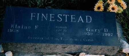 FINESTEAD, ELAINE F. - Boone County, Iowa | ELAINE F. FINESTEAD