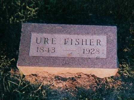 FISHER, URE - Boone County, Iowa | URE FISHER