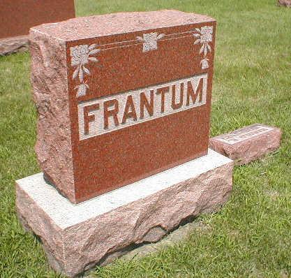 FRANTUM, FAMILY - Boone County, Iowa | FAMILY FRANTUM