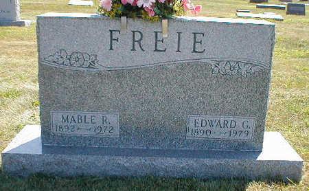 FREIE, MABLE R. - Boone County, Iowa | MABLE R. FREIE