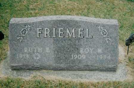 FRIEMEL, RUTH E - Boone County, Iowa | RUTH E FRIEMEL