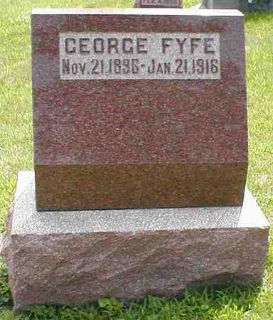 FYFE, GEORGE - Boone County, Iowa   GEORGE FYFE