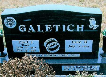 GALETICH, JUNE B. - Boone County, Iowa | JUNE B. GALETICH