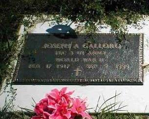 GALLORO, JOSEPH A. - Boone County, Iowa | JOSEPH A. GALLORO