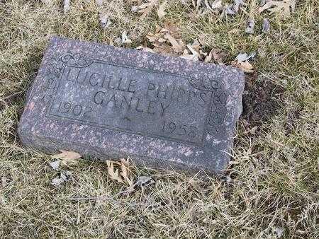 GANLEY, LUCILLE - Boone County, Iowa | LUCILLE GANLEY