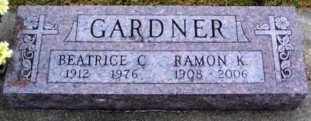 GARDNER, BEATRICE C. - Boone County, Iowa   BEATRICE C. GARDNER