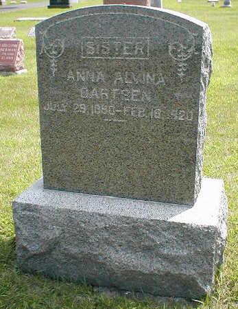 GARTSEN, ANNA ALVINA - Boone County, Iowa | ANNA ALVINA GARTSEN