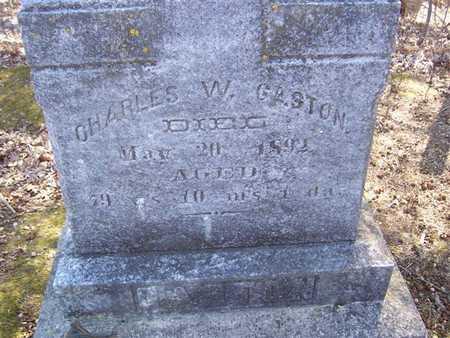 GASTON, CHARLES W. - Boone County, Iowa | CHARLES W. GASTON