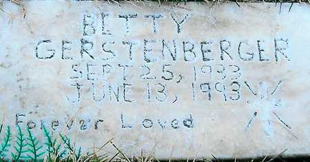 GERSTENBERGER, BETTY - Boone County, Iowa | BETTY GERSTENBERGER