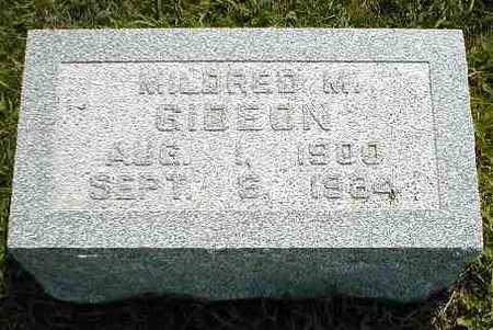 GIDEON, MILDREN M. - Boone County, Iowa | MILDREN M. GIDEON