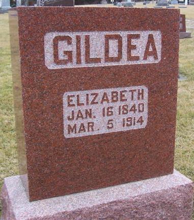GILDEA, ELIZABETH - Boone County, Iowa | ELIZABETH GILDEA