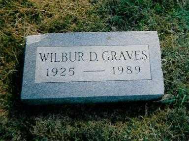GRAVES, WILBUR D. - Boone County, Iowa | WILBUR D. GRAVES