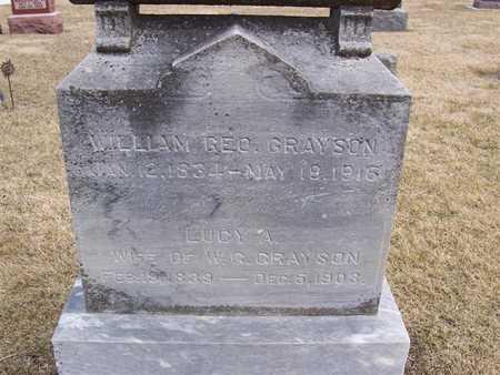 GRAYSON, LUCY A. - Boone County, Iowa | LUCY A. GRAYSON