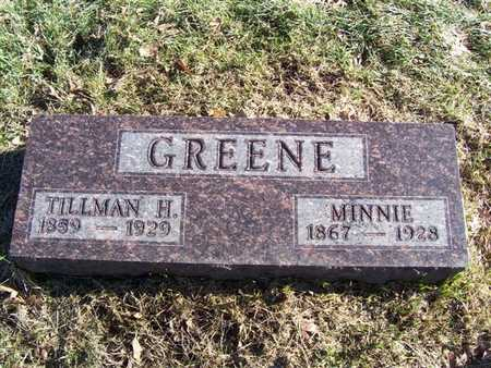 GREENE, MINNIE - Boone County, Iowa | MINNIE GREENE