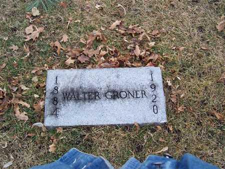 GRONER, WALTER - Boone County, Iowa | WALTER GRONER