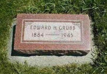 GRUBB, EDWARD H. - Boone County, Iowa | EDWARD H. GRUBB
