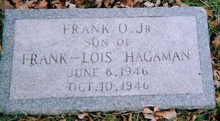 HAGAMAN, FRANK O. JR. - Boone County, Iowa | FRANK O. JR. HAGAMAN