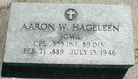 HAGELEEN, AARON W. - Boone County, Iowa | AARON W. HAGELEEN
