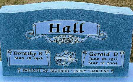 HALL, GERALD D. - Boone County, Iowa | GERALD D. HALL