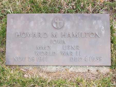 HAMILTON, HOWARD M. - Boone County, Iowa | HOWARD M. HAMILTON