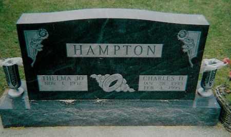 HAMPTON, THELMA JO - Boone County, Iowa   THELMA JO HAMPTON