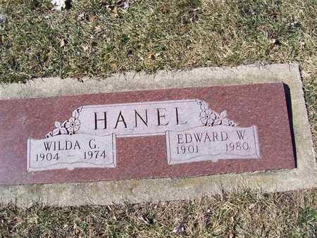 HANEL, WILDA G. - Boone County, Iowa   WILDA G. HANEL