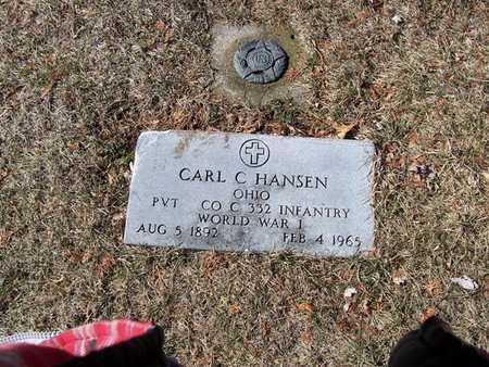 HANSEN, CARL C. - Boone County, Iowa   CARL C. HANSEN