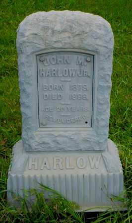 HARLOW, JOHN M. JR. - Boone County, Iowa   JOHN M. JR. HARLOW
