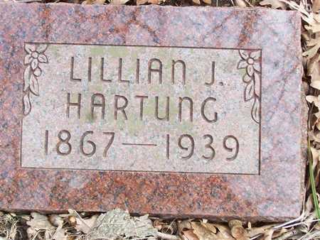 HARTUNG, LILLIAN J. - Boone County, Iowa | LILLIAN J. HARTUNG