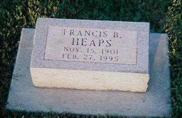HEAPS, FRANCIS B. - Boone County, Iowa | FRANCIS B. HEAPS