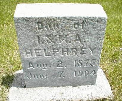 HELPHREY, DAUGHTER - Boone County, Iowa | DAUGHTER HELPHREY