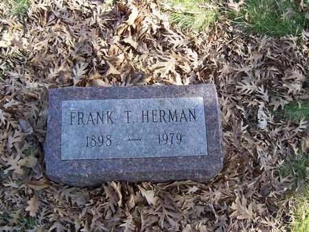 HERMAN, FRANK T. - Boone County, Iowa   FRANK T. HERMAN