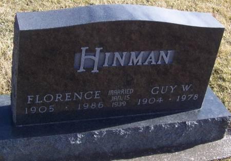HINMAN, GUY W. - Boone County, Iowa | GUY W. HINMAN
