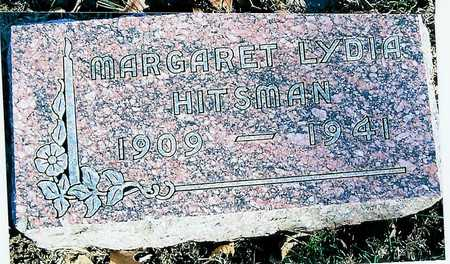 HITSMAN, MARGARET LYDIA - Boone County, Iowa | MARGARET LYDIA HITSMAN