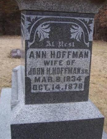 HOFFMAN, ANN - Boone County, Iowa | ANN HOFFMAN